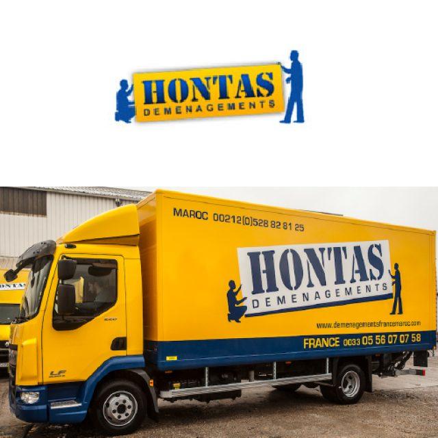 HONTAS MAROC DEMENAGEMENTS